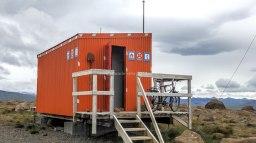 Islande à vélo 2014, refuge de secours