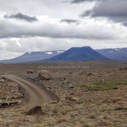 Islande à vélo 2014, kaldidalur