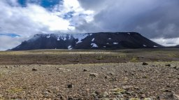 Islande à vélo 2014 sur la piste F550