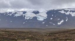 Islande à vélo 2014, le glacier Þórisjökull