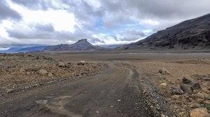 Islande à vélo 2014, F550, piste Kaldidalur