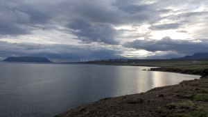Islande à vélo 2014, le Hvallfjordur
