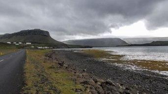 Islande à vélo 2014, tour du fjord Hvallfjordur