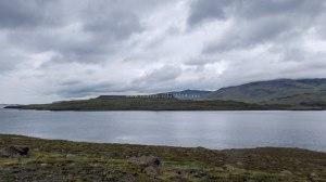 Islande à vélo 2014, fjord Hvallfjordur
