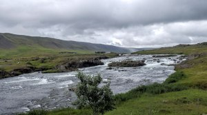 Islande à vélo 2014, a la sortie de la piste kaldidalur