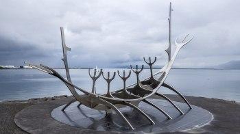 Islande à vélo 2014, Drakkar de Reykjavik