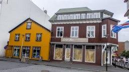 Islande à vélo 2014, centre de Reykjavik