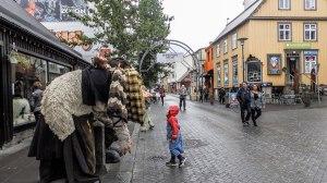 Islande à vélo 2014, dans le centre de Reykjavik