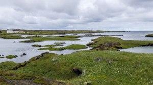 Islande à vélo 2014, sur la route de Keflavik