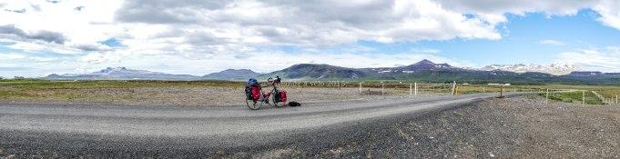 voyage à vélo 2015, en direction du snaefellsjokull
