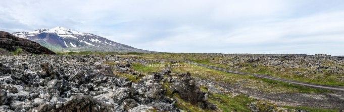 voyage à vélo en islande, snaefellsjokull en 2015