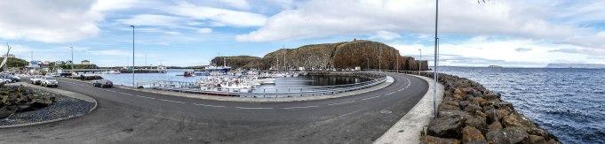 islande à vélo, port de stykkisholmur en 2015