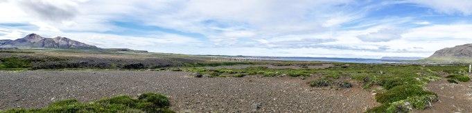 Islande à vélo, vue panoramique dans la Snaefellsnes