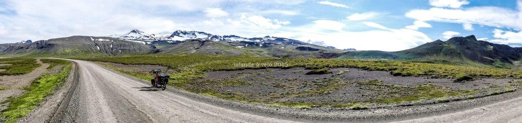 Islande à vélo 2015 dans la péninsule de Snaefellsnes et des Westfjords