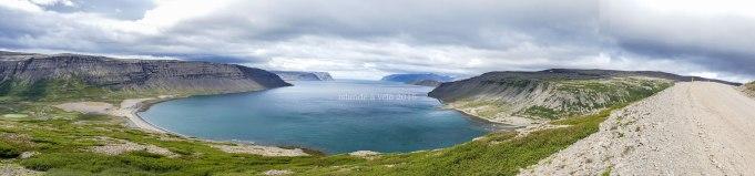 islande à vélo, en direction de Fjallfoss