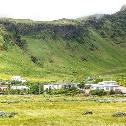Islande à vélo 2014, ville de Vik