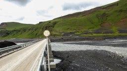 Islande à vélo 2014, pont dans le sud de l'islande