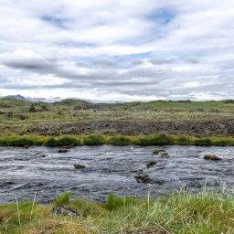 Islande à vélo 2014, route vers l'Est