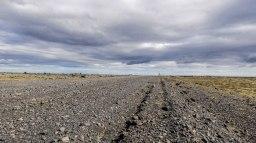 Islande à vélo 2014, piste vers Hrifunes