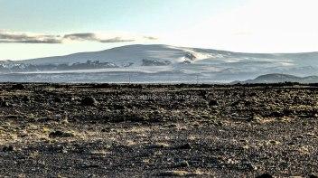 Islande à vélo 2014, bivouac en bordure de route 1
