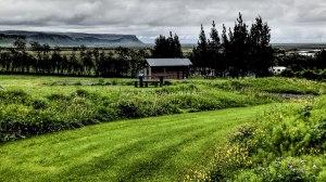 Islande à vélo 2014, camping dans le sud