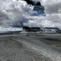 Islande à vélo 2014 sur la route 1