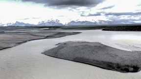 Islande à vélo 2014, sur la route 1