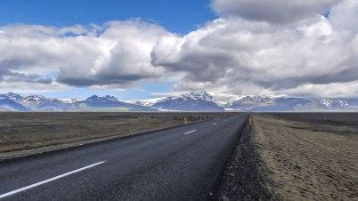 Islande à vélo 2014, route 1
