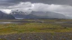 Islande à vélo 2014, glacier d'islande