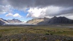 Islande à vélo 2014, glaceir en Islande
