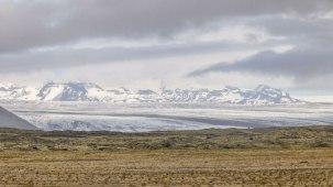 Islande à vélo 2014, glacier en Islande