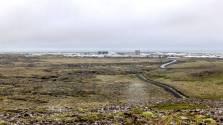 islande à vélo, L'arrivée sur Grindavik