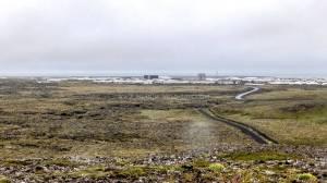 Islande à vélo 2014, L'arrivée sur Grindavik