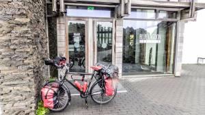 Islande à vélo 2014, l'entrée du blue lagoon