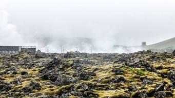 Islande à vélo 2014 autour du blue lagoon