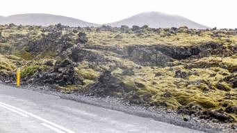 Islande à vélo 2014 , approche du Blue Lagoon