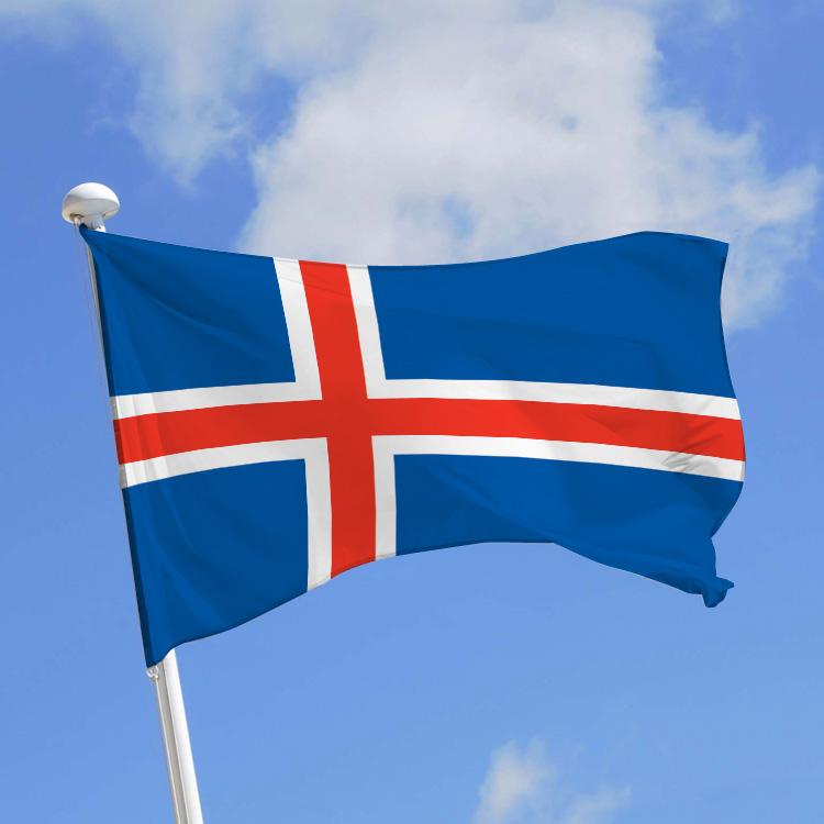 drapeau de l'Islande