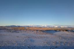 Volcan katla, en islande à vélo en hiver