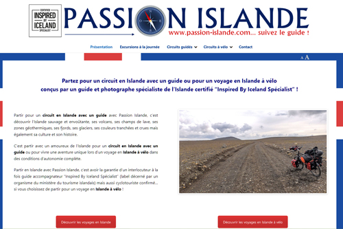 Circuits guidés en Islande et voyages en Islande à vélo de Passion Islande